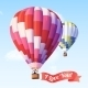 Air Balloon with Ribbon - GraphicRiver Item for Sale
