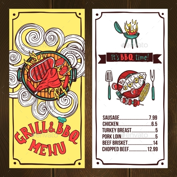 GraphicRiver Grill Menu Sketch 11011651