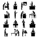 Cooking Icons Black - GraphicRiver Item for Sale
