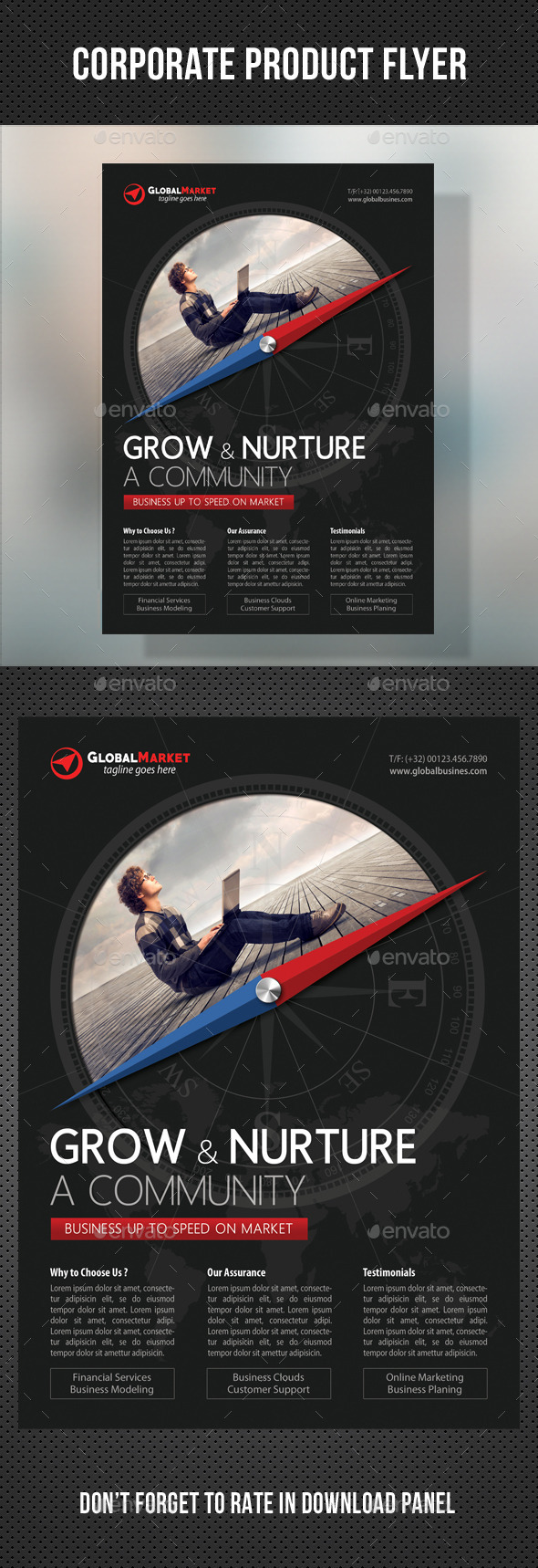 GraphicRiver Corporate Business Flyer 04 11011724