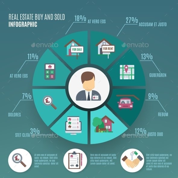 GraphicRiver Real Estate Infographic 11011729