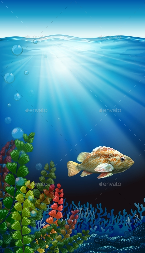 GraphicRiver A Fish 11011755