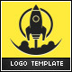 Rocket Ignition Logo Template - GraphicRiver Item for Sale