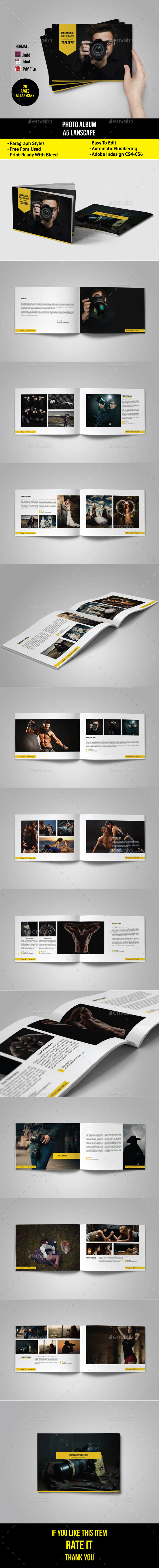 GraphicRiver Portfolio Photographer 11011772