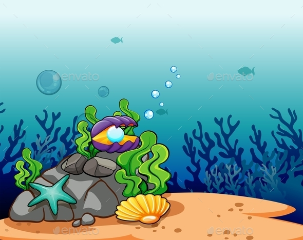 GraphicRiver Underwater Scene 11011799