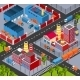 Factory Infrastructure Isometric - GraphicRiver Item for Sale