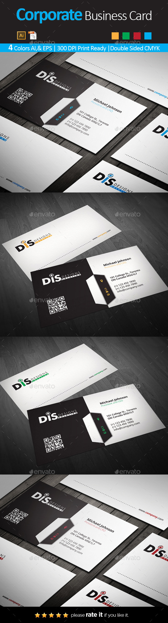 GraphicRiver Business Card 11011899