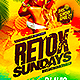 Summer Retox Flyer  - GraphicRiver Item for Sale
