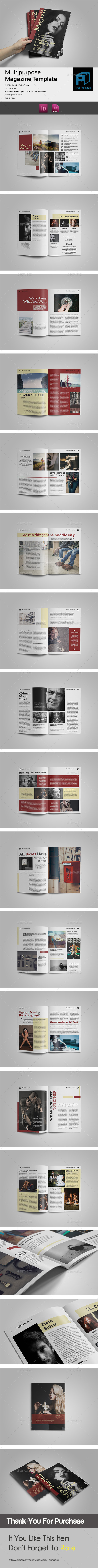 GraphicRiver 30 Pages Magazine 11011926