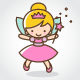 Magic Fairy Logo - GraphicRiver Item for Sale