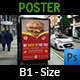 Burger Restaurant Poster Template Vol.3 - GraphicRiver Item for Sale