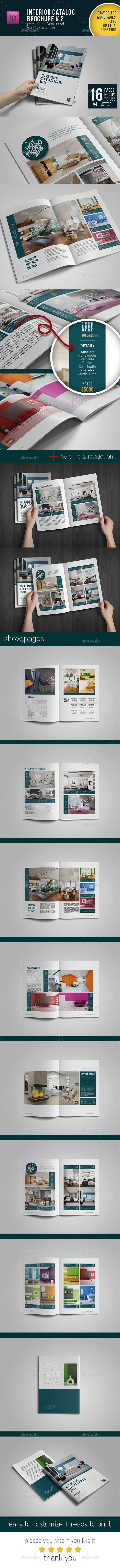 GraphicRiver Brochure Catalog Template Vol.2 10969640
