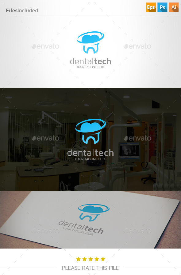 GraphicRiver Dental Logo 11013483