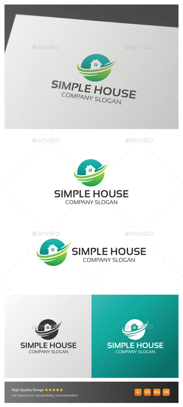 GraphicRiver Simple House 11014497