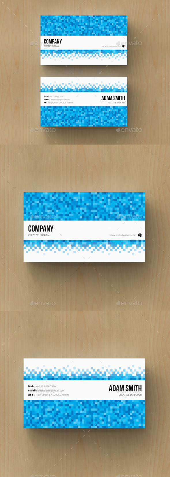GraphicRiver Creative Business Card 11015527