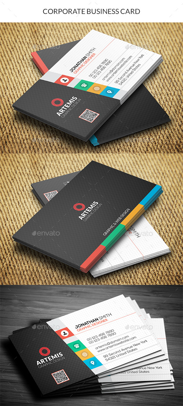 GraphicRiver Corporate Business Card 11015558