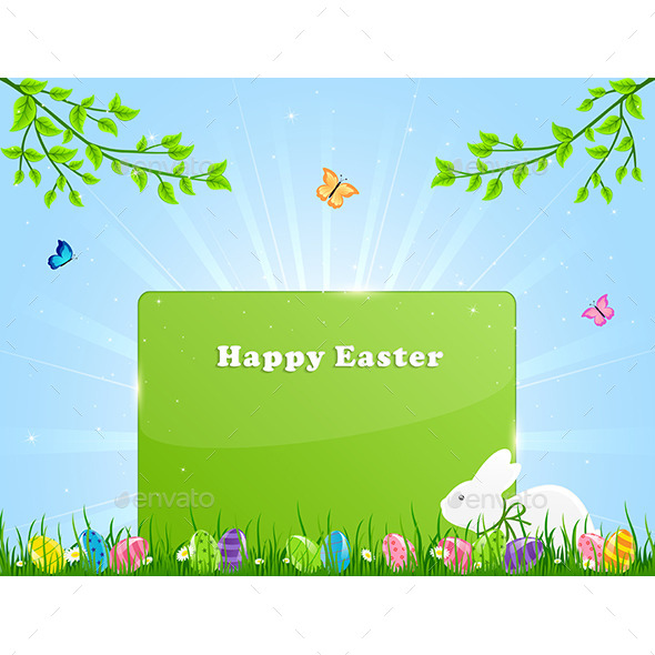 GraphicRiver Easter Banner 11015581