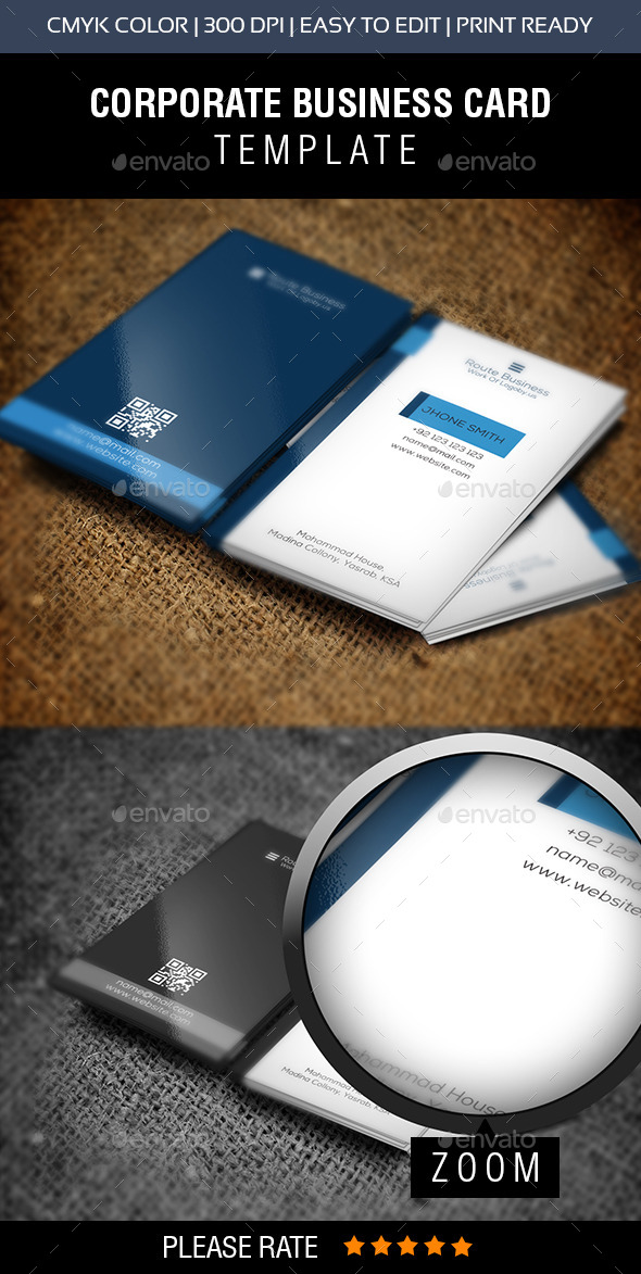 GraphicRiver Corporate Business Card 11015639