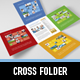 Metro Cross Folder - GraphicRiver Item for Sale