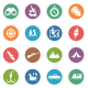 Hunting Circle Icons - GraphicRiver Item for Sale