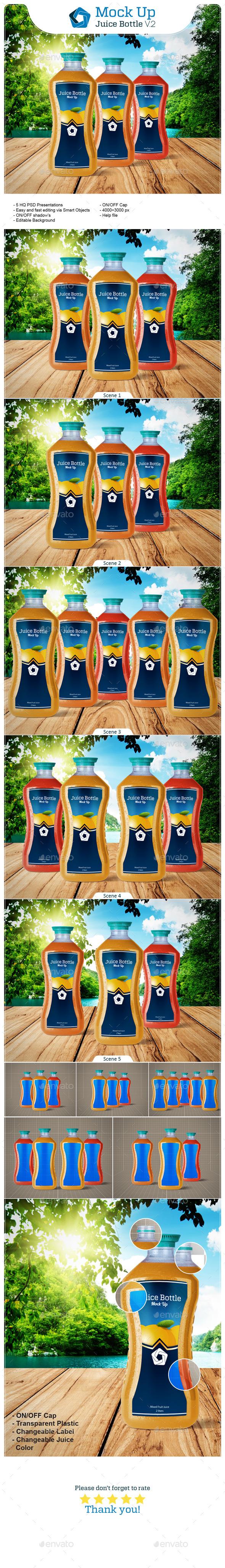 GraphicRiver Juice Bottle V.2 11016206