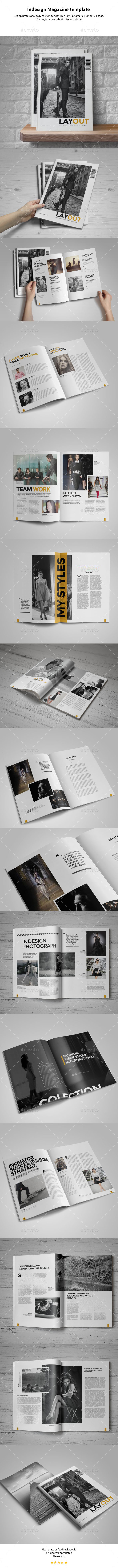 GraphicRiver Indesign Magazine Template 11016212