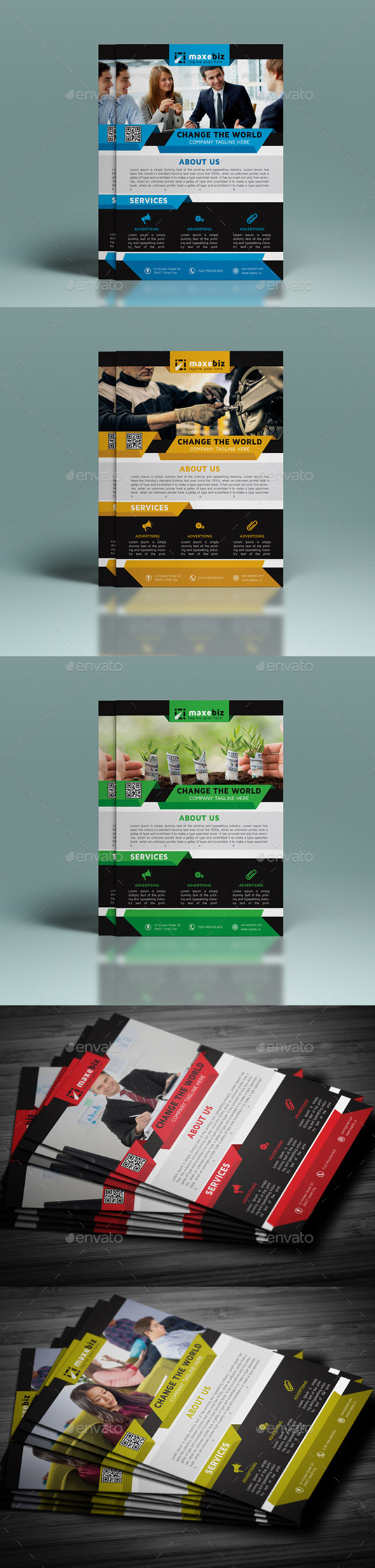 GraphicRiver Corporate Flyer 10434720