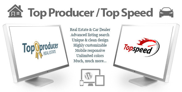ThemeForest Top Producer Real Estate and Top Speed Car Dealer 7048191