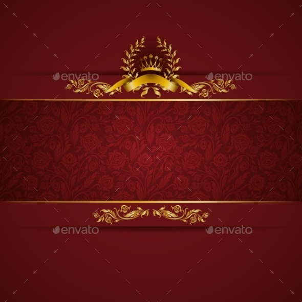 GraphicRiver Elegant Golden Frame Banner 11016764