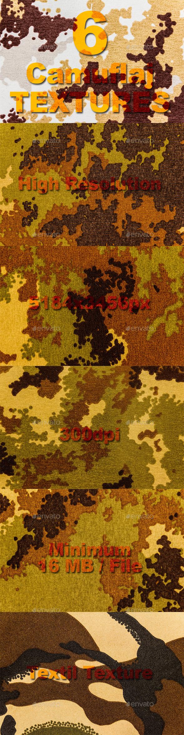 GraphicRiver Camuflaj Textures 11016860