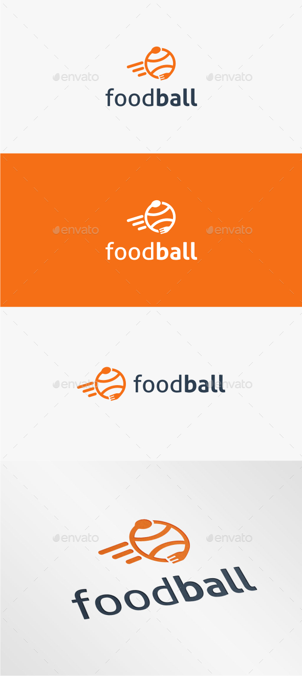 GraphicRiver Food Ball Logo Template 11016996