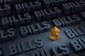 Savings Surrounded By Looming Bills - PhotoDune Item for Sale