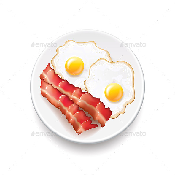GraphicRiver Bacon and Eggs 11017252