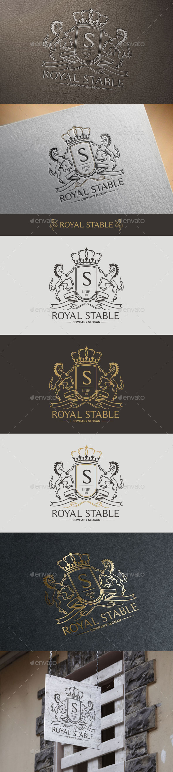 GraphicRiver Royal Stable 11017332