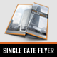 Business single gate flyer