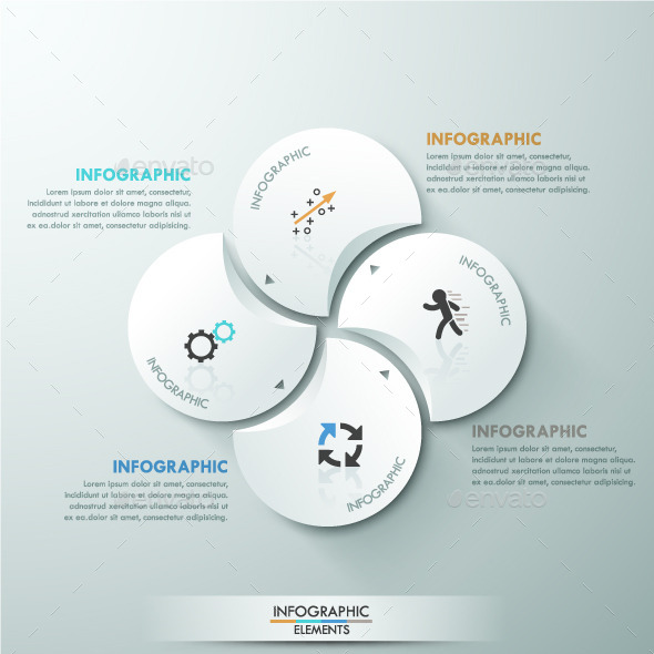GraphicRiver Modern Infographic Circle Template 11017504