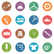 Sewing Circle Icons - GraphicRiver Item for Sale