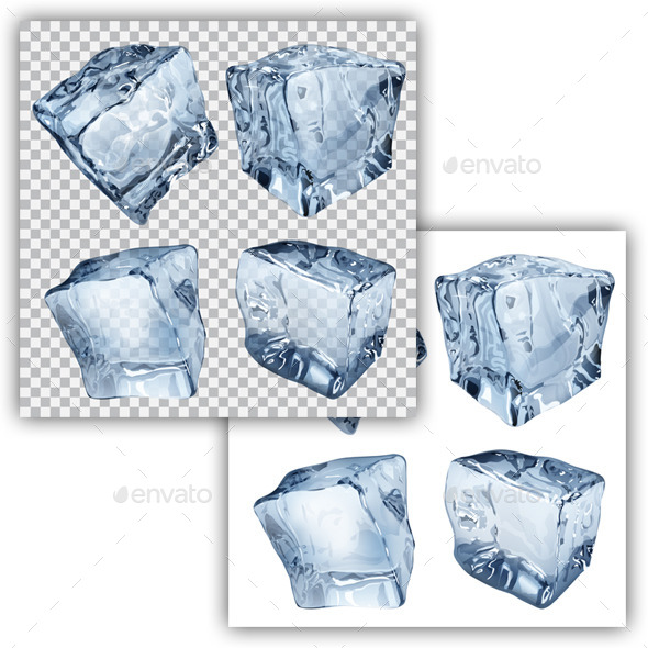 GraphicRiver Ice Cubes 11017513