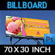 Ice Cream Billboard Template Vol.3 - GraphicRiver Item for Sale