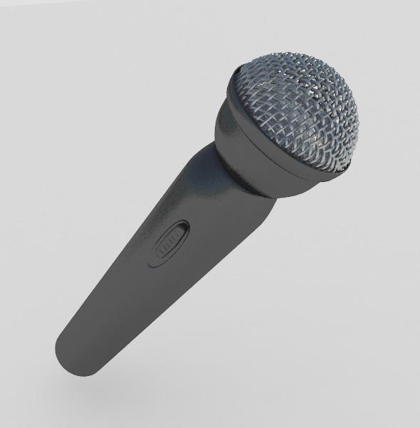 3DOcean Microphone 11017612