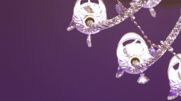 Rotation Under Crystal Chandelier