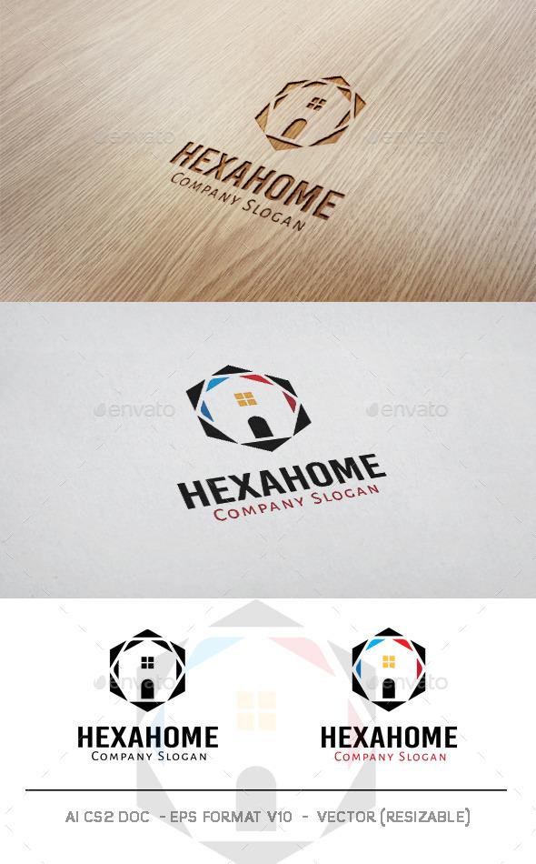 GraphicRiver Hexa Home Logo 11017724