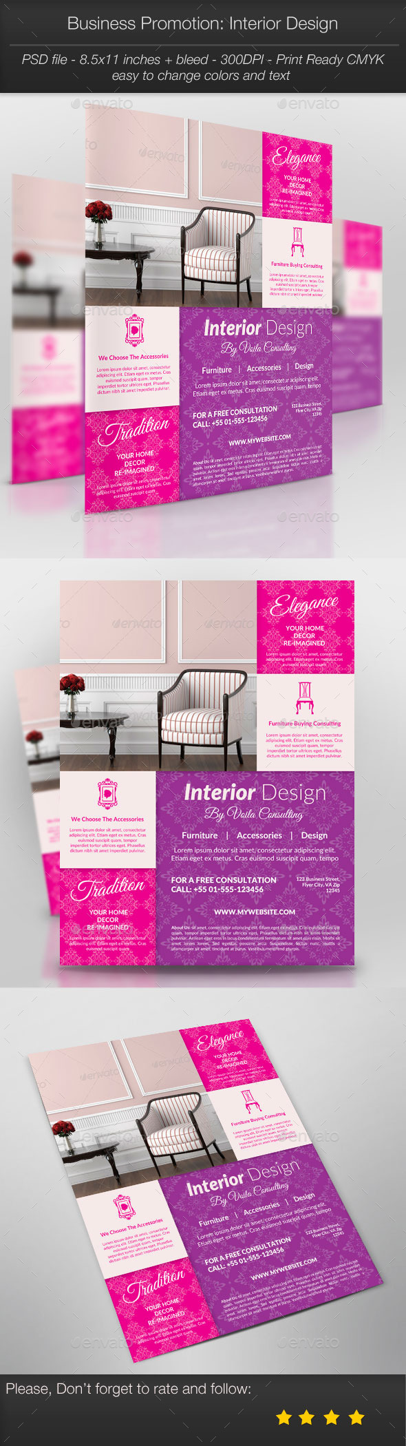 GraphicRiver Business Promotion Interior Design 11018190