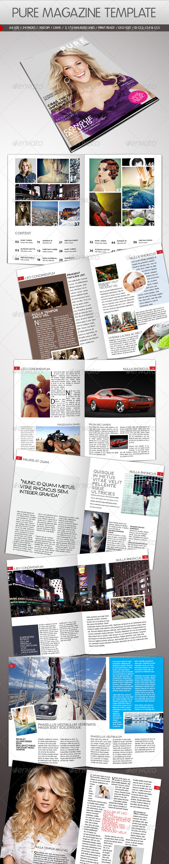 GraphicRiver Pure Magazine Template 716743