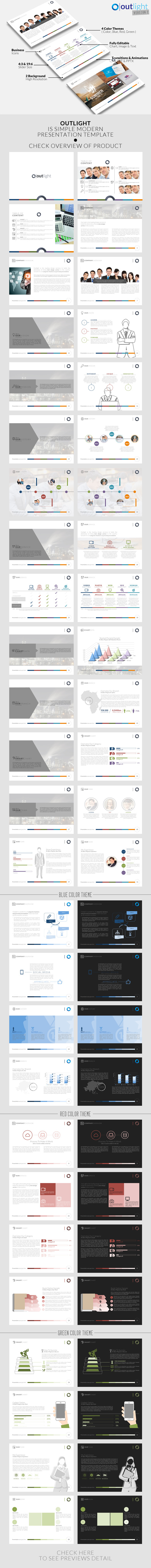GraphicRiver Outlight v2 Powerpoint Template 11018315