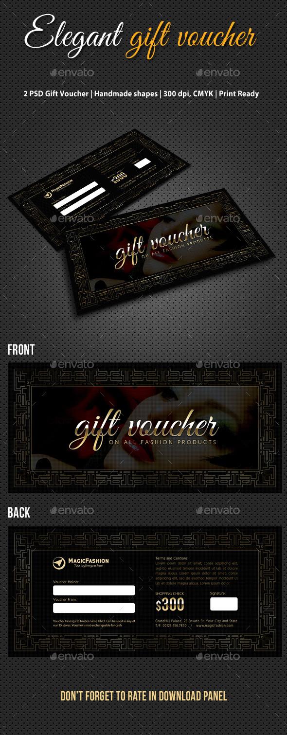 GraphicRiver Elegant Gift Voucher V03 11018402