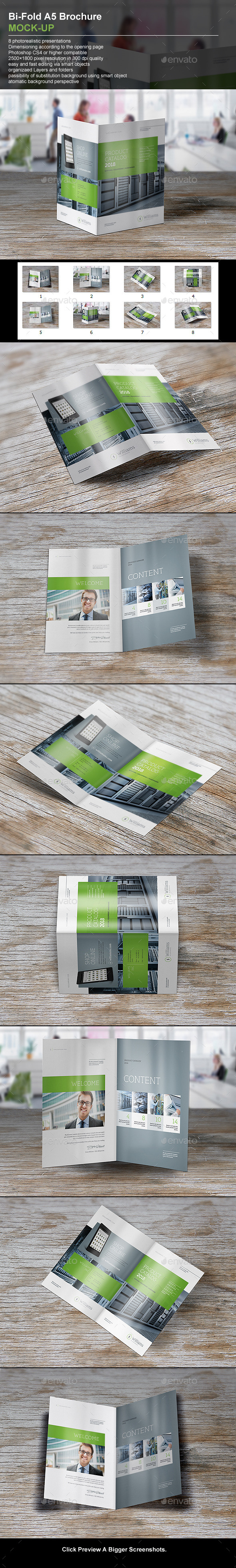 GraphicRiver Bi-Fold A5 Brochure 11018653