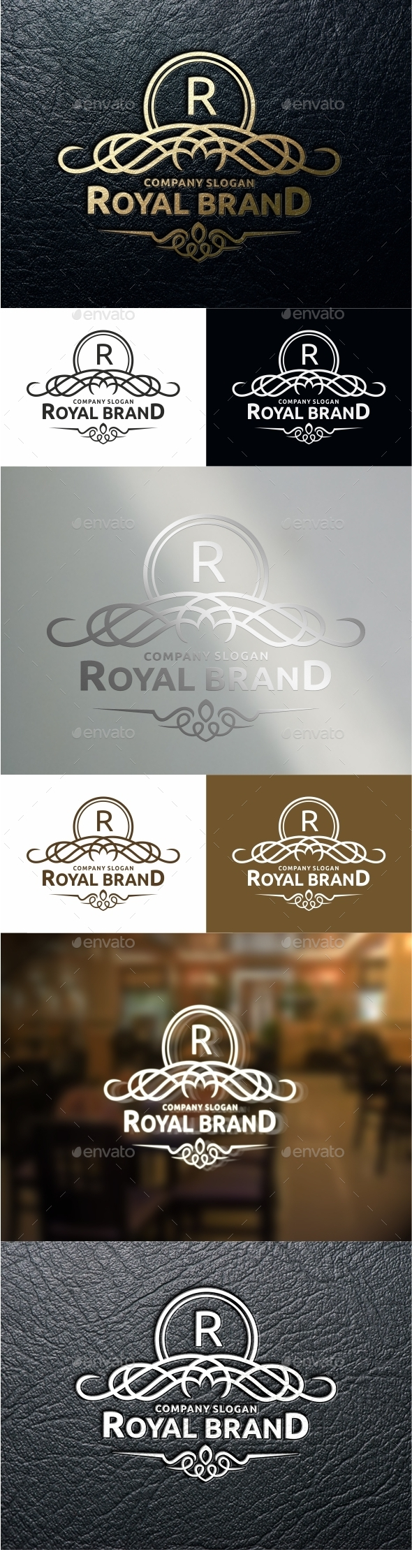 GraphicRiver Royal Brand Logo Template 11018780