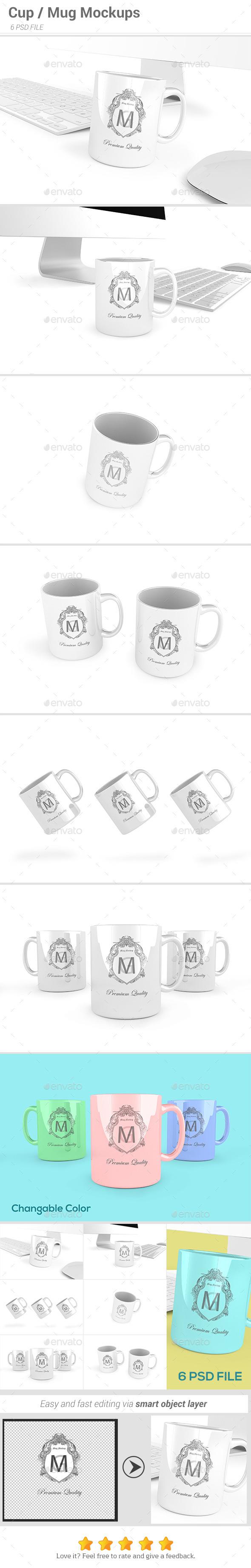 GraphicRiver Cup Mug Mockups 11018862