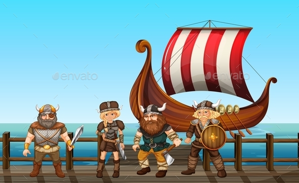 GraphicRiver Vikings 11019747